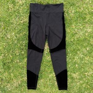 Alala Vamp Black Velvet Tights Size Medium
